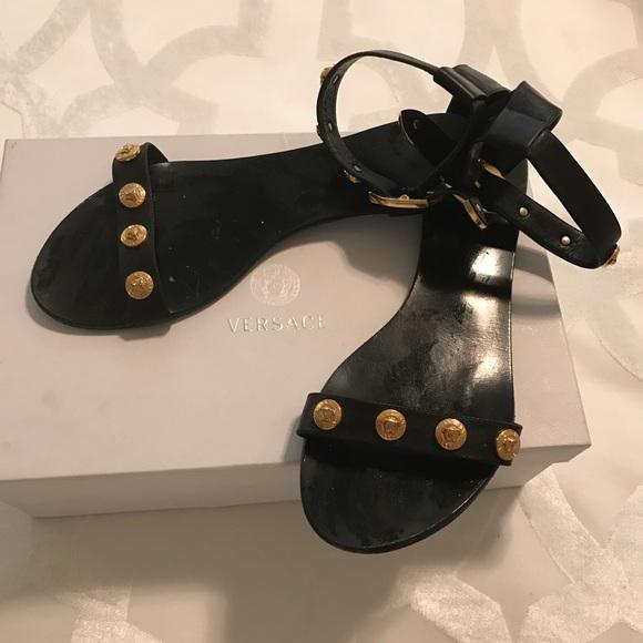 5c55e9dd1f Versace Medusa Stud Tribute Sandals. M_5b23e4b5aa8770225465c9f2